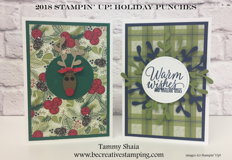 2018 Stampin' Up! Holiday Punches 3