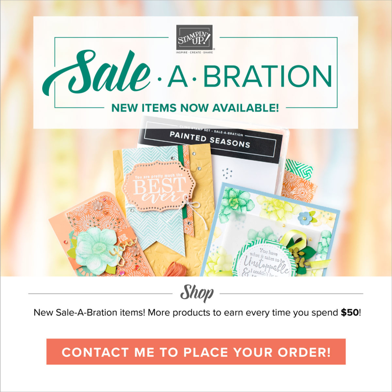 Sale-A-Bration Second Release Products