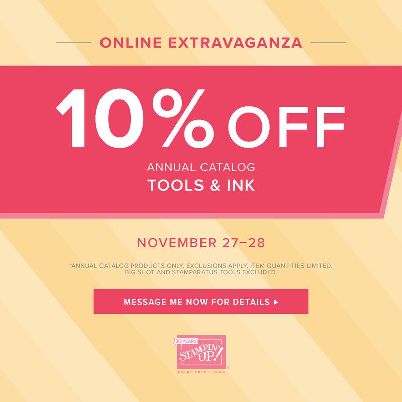 Tools & Ink Sale (Nov. 27-28)