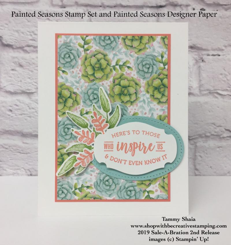 Painted Season Bundle Card