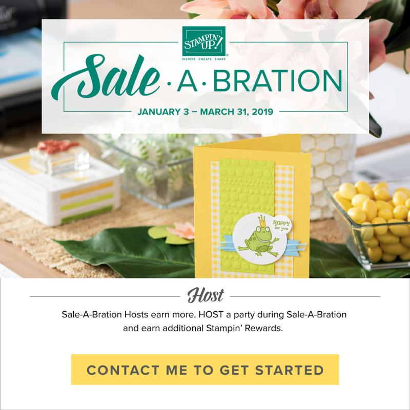 Host Sale-A-Bration