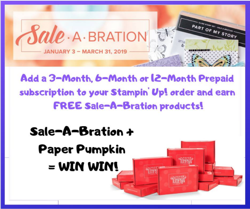 Paper Pumpkin & Sale-A-Bration