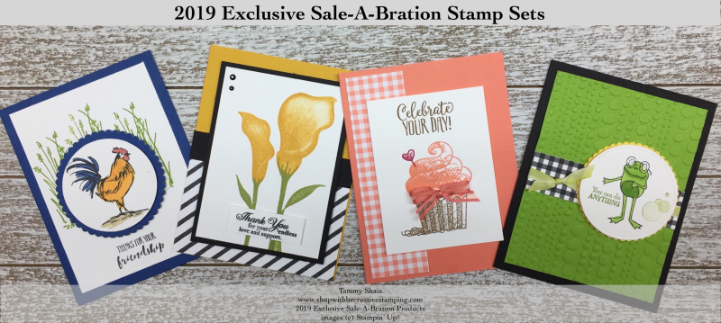 2019 Sale-A-Bration Cards