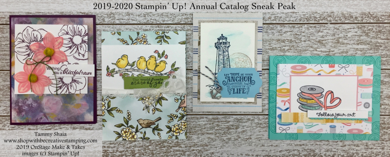 2019 Stampin' Up! OnStage Make & Takes