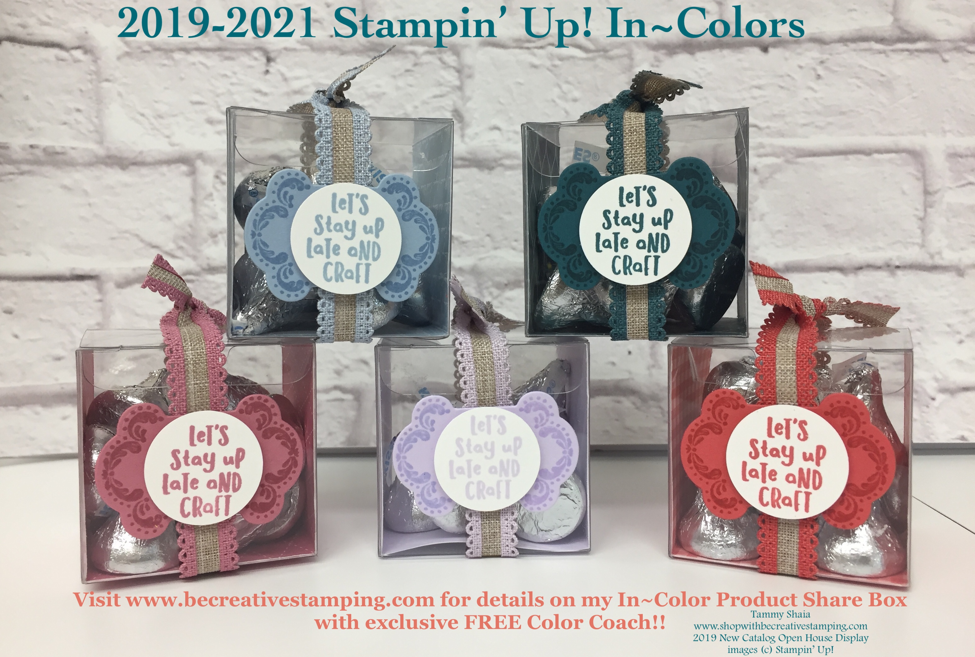 2019-2020 New Stampin' Up! Catalog Open House - Be Creative