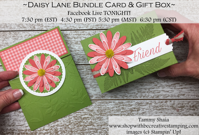 Daisy Lane Stamp Set and Medium Daisy Punch