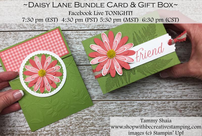 Daisy Lane Stamp Set and Medium Daisy Punch