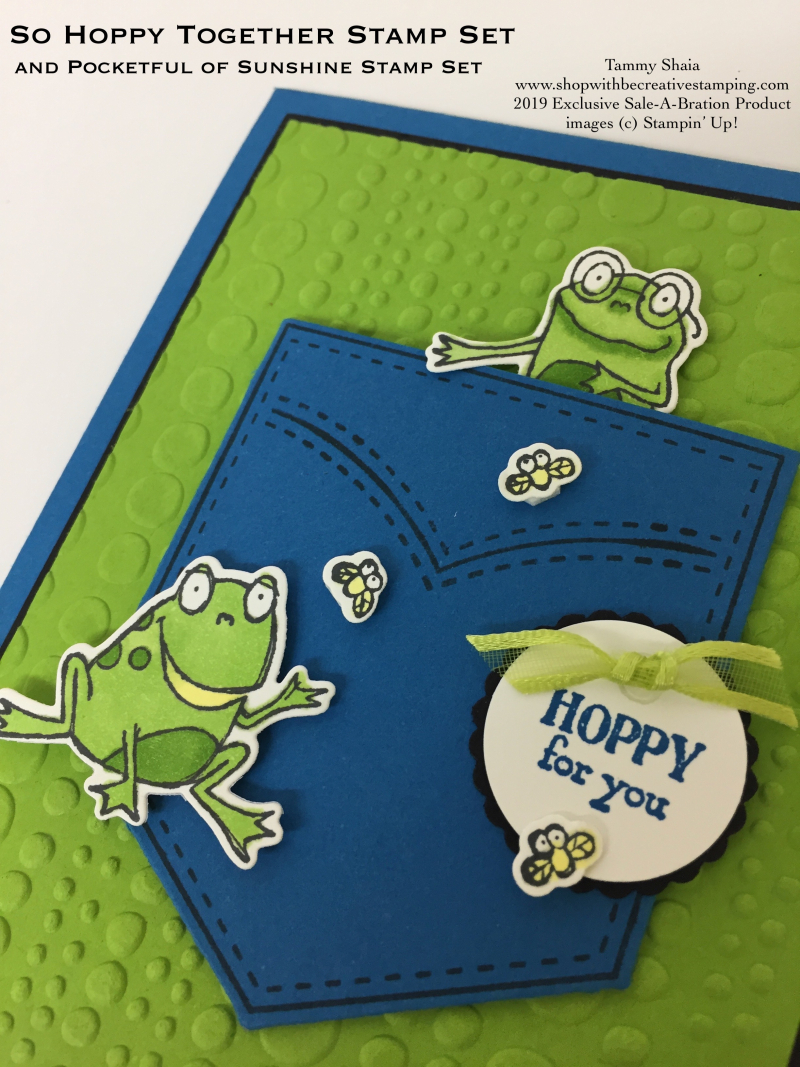 So Hoppy Together Stamp Set (close-up)