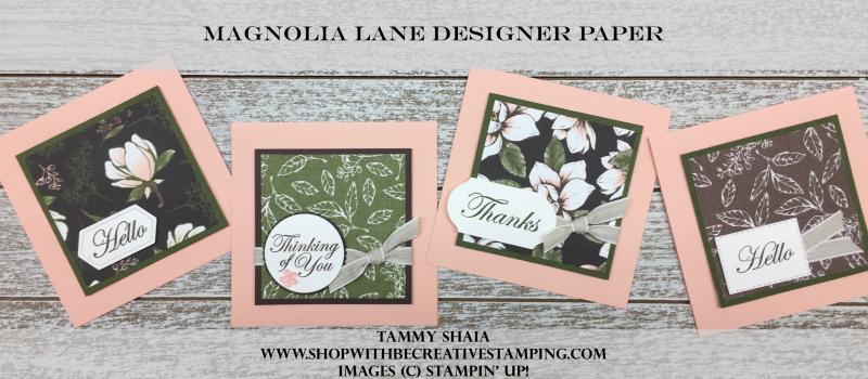 Magnolia Lane Designer Paper
