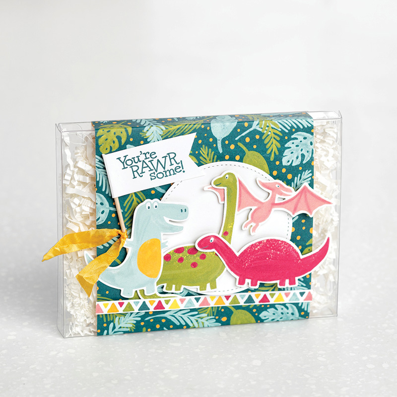 Dino Days Stamp Set by Stampin' Up!