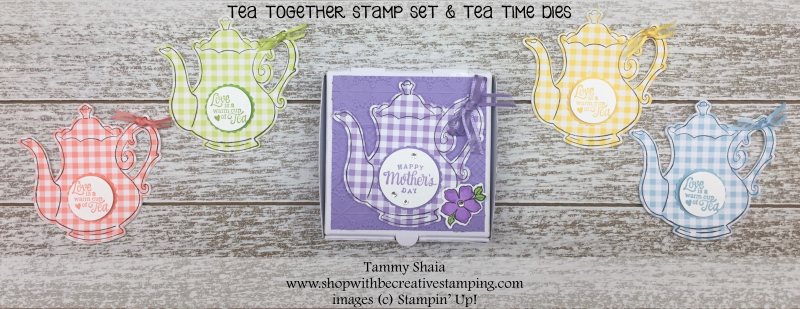 Tea Time NoteCards and Box 1