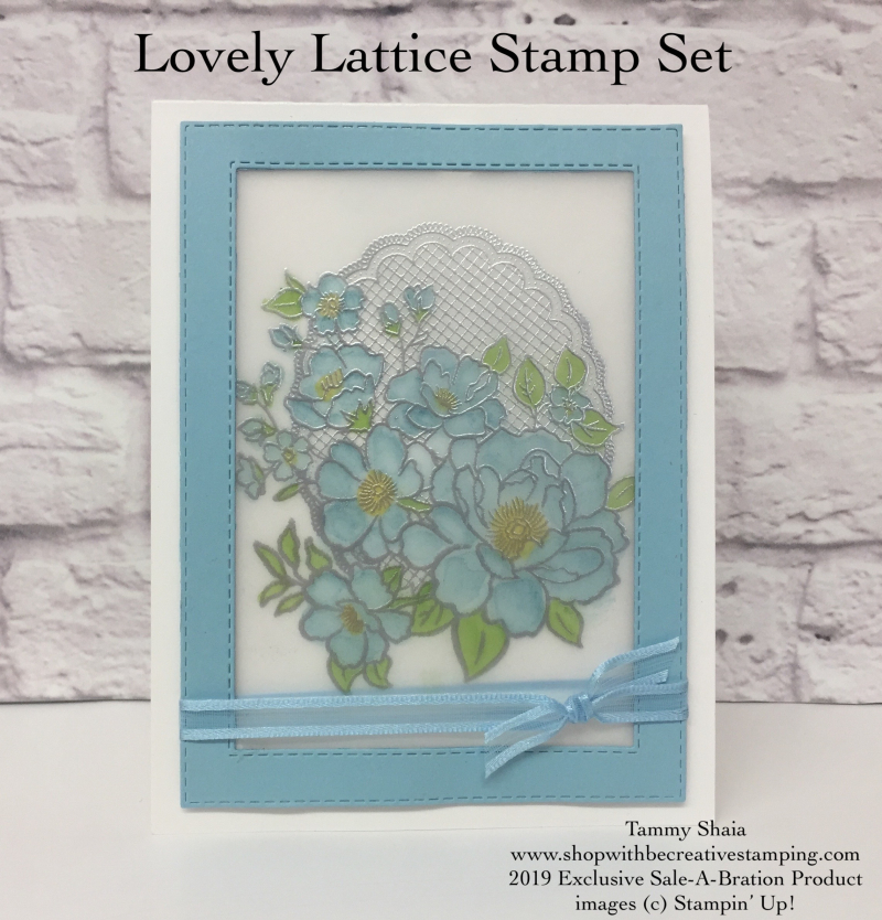 Lovely Lattice Stamp Set