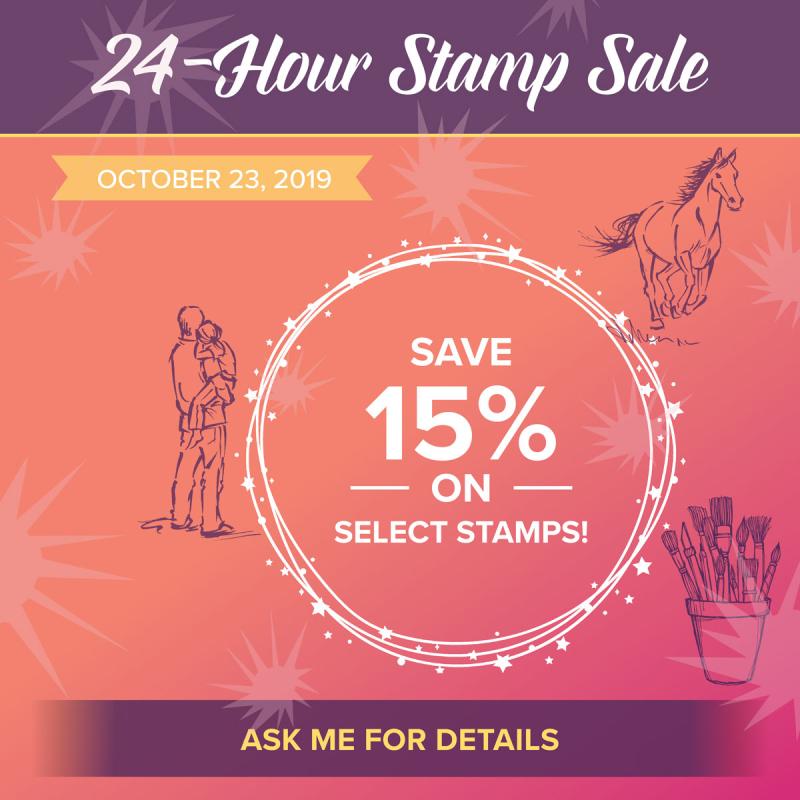 Stamp Sale 24 Hour
