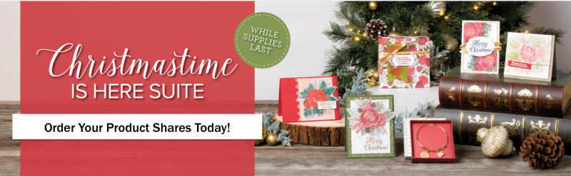 Christmastime is Here Suite Product Shares graphic
