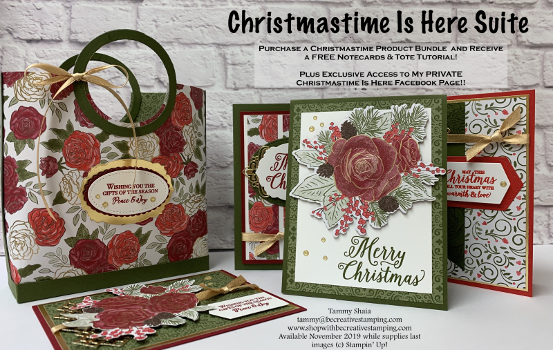 Christmastime Is Here Tutorial