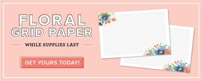 Floral Grid Paper 2