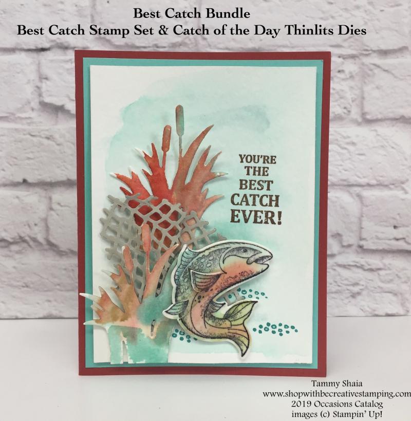 Best Catch Stamp Set