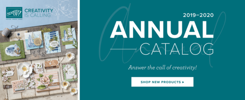 2019-20 Stampin' Up! Annual Catalog