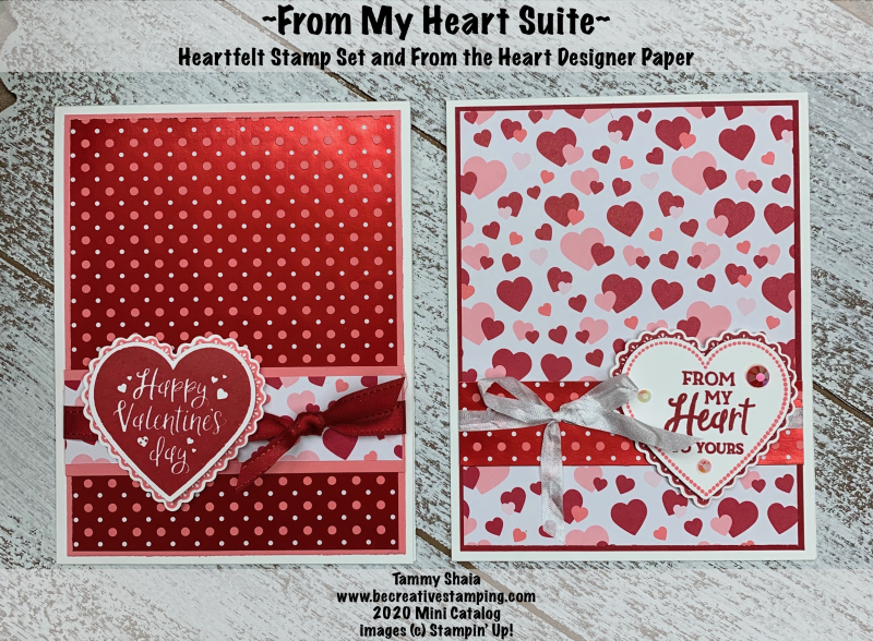 Hearfelt Stamp Set Cards