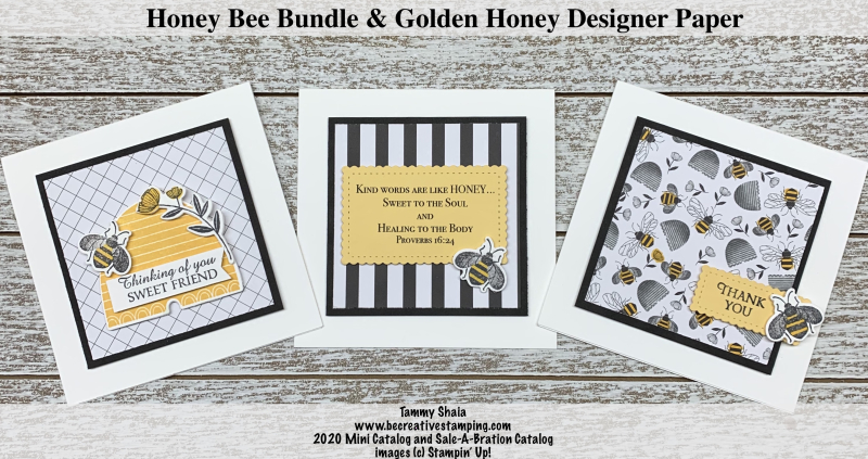 Honey Bee Bundle Cards 1
