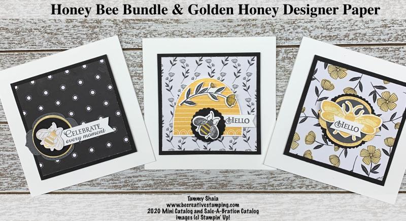 Honey Bee Bundle Cards 2