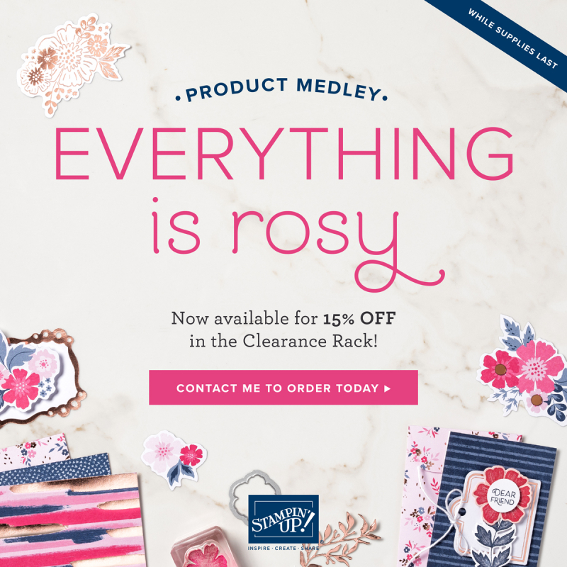Everything is Rosy Promotion 15% Off