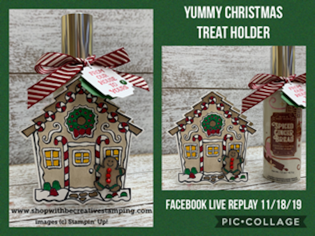 Yummy Christmas Treat Holder (FB Live Replay)