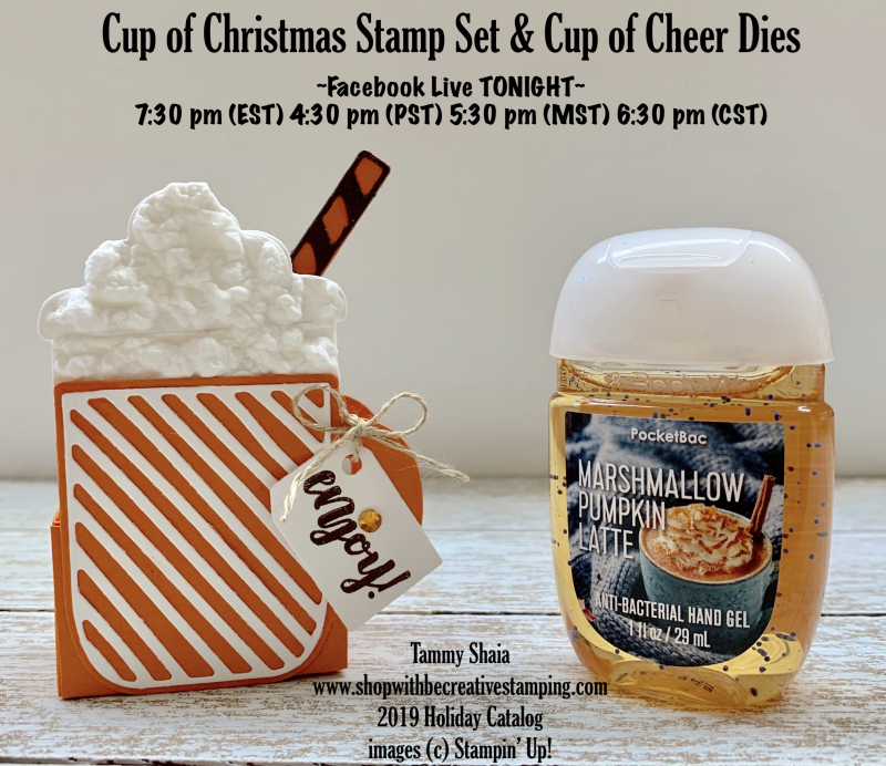Cup of Christmas Bundle FB LIVE TONIGHT