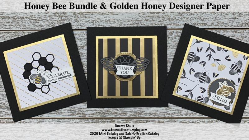 Honey Bee Bundle Cards 3