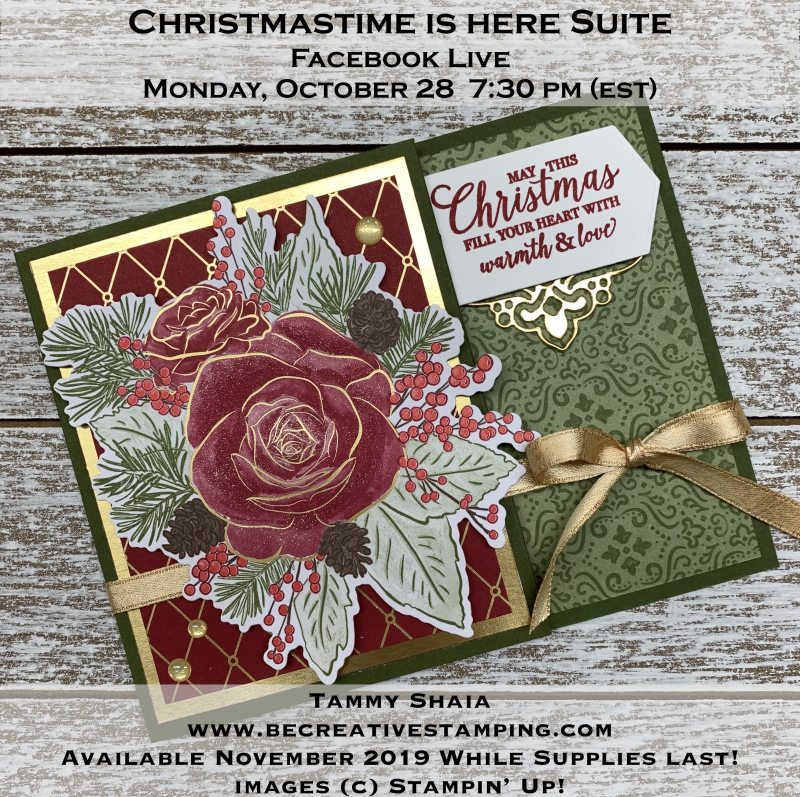 Christmastime is Here Gift Card Holder