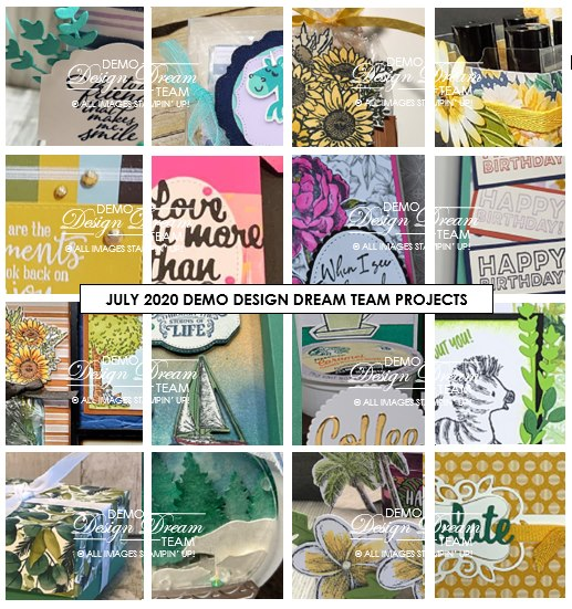 July 2020 Demo Design Dream Team Projects