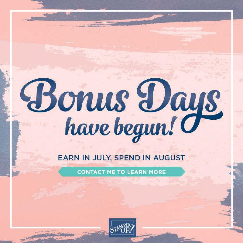 Bonus Days 2020
