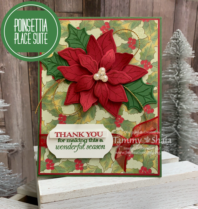Poinsettia Place Suite Card