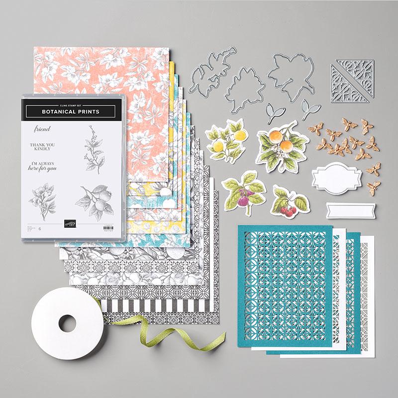Botanical Prints Product Medley