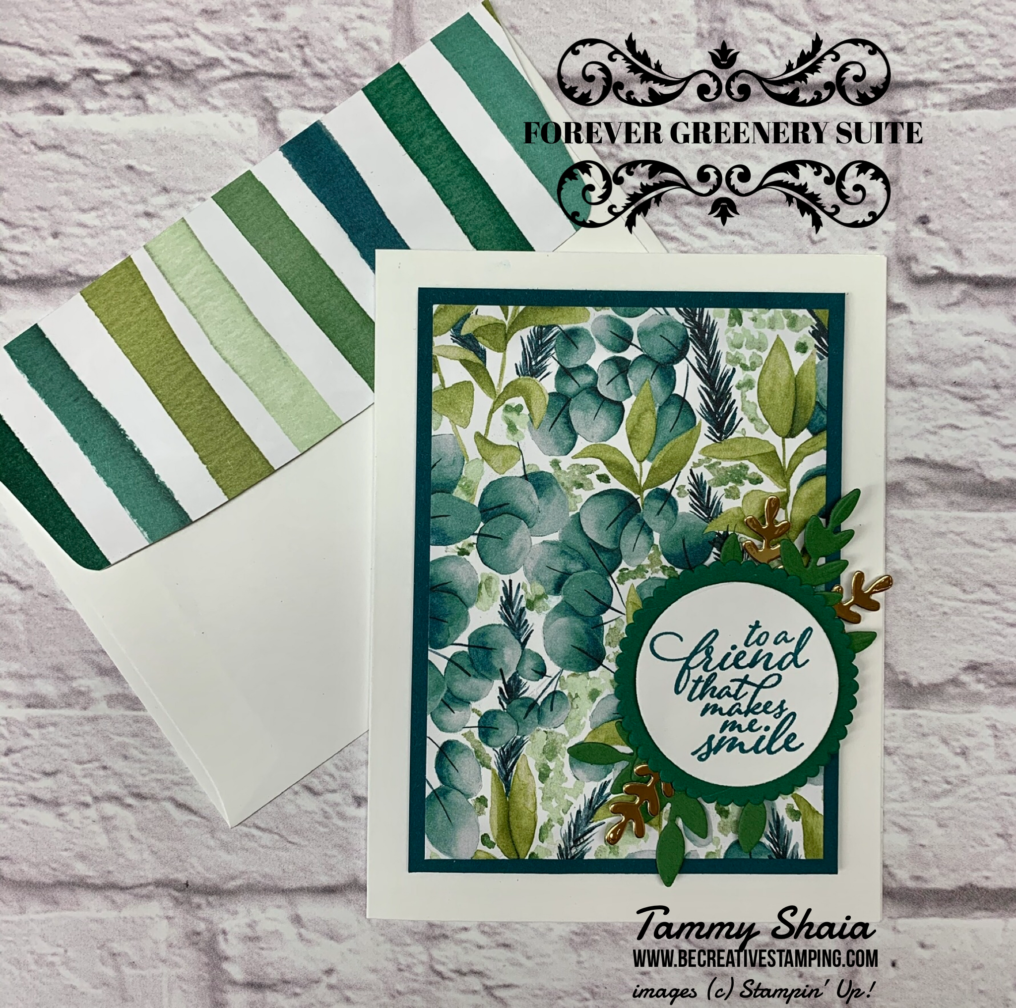 NEW Stampin Up FOREVER GREENERY DSP 12 sheets 6 x 6 Designer Series Paper