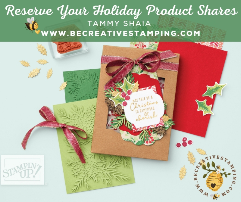 Reserve Your Holiday Product Shares (without date)